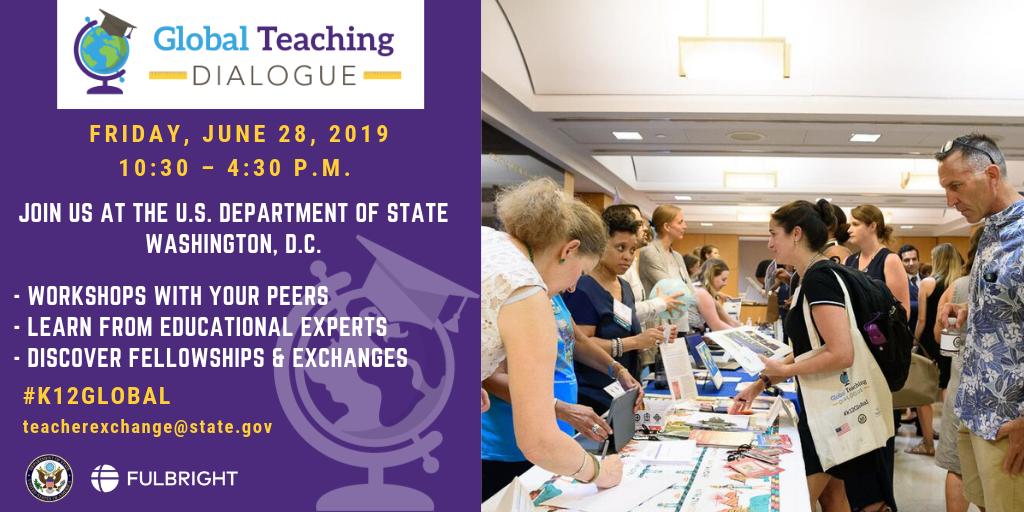 Global Teaching Dialogue | Bureau of Educational and Cultural Affairs