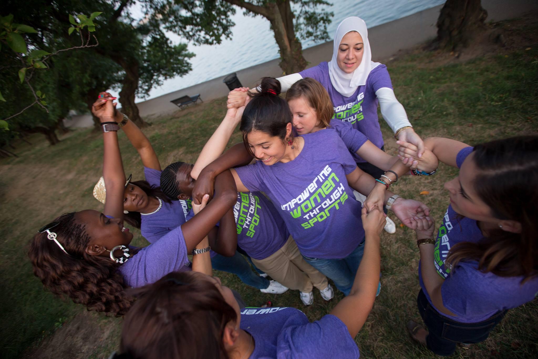 Empowering women and girls through sports.