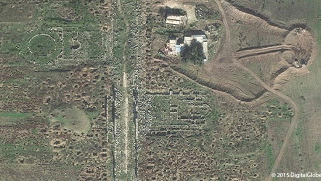 apamea syria satellite photo