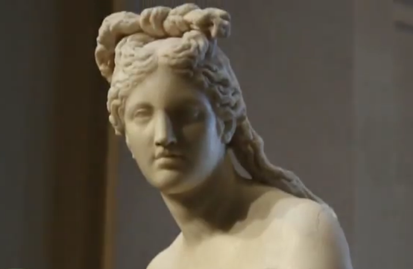 The Capitoline Venus housed at the Capitoline Museum in Rome, Italy