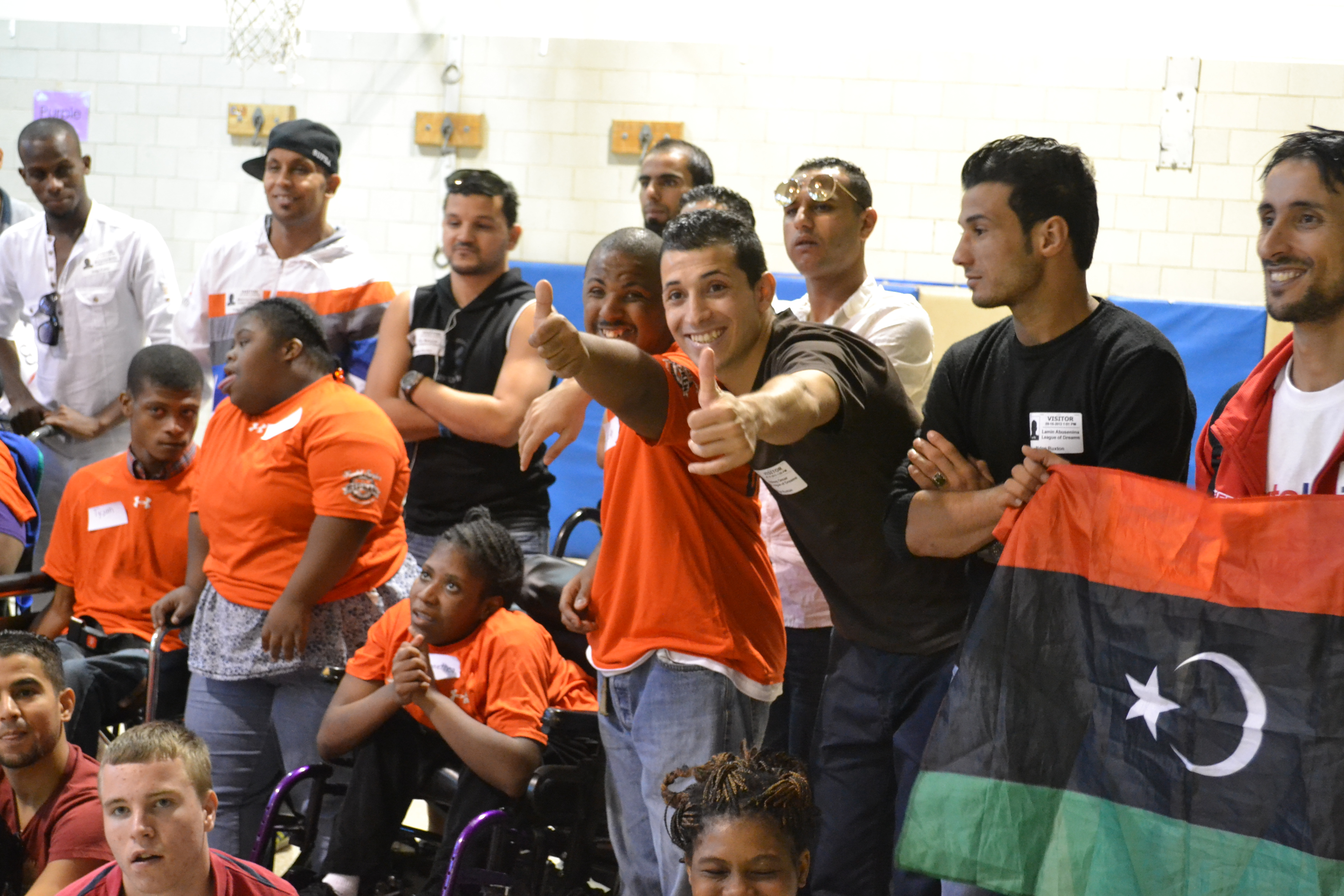 Libyan coaches learn about sport and disability in the United States at the Ridge Ruxton School