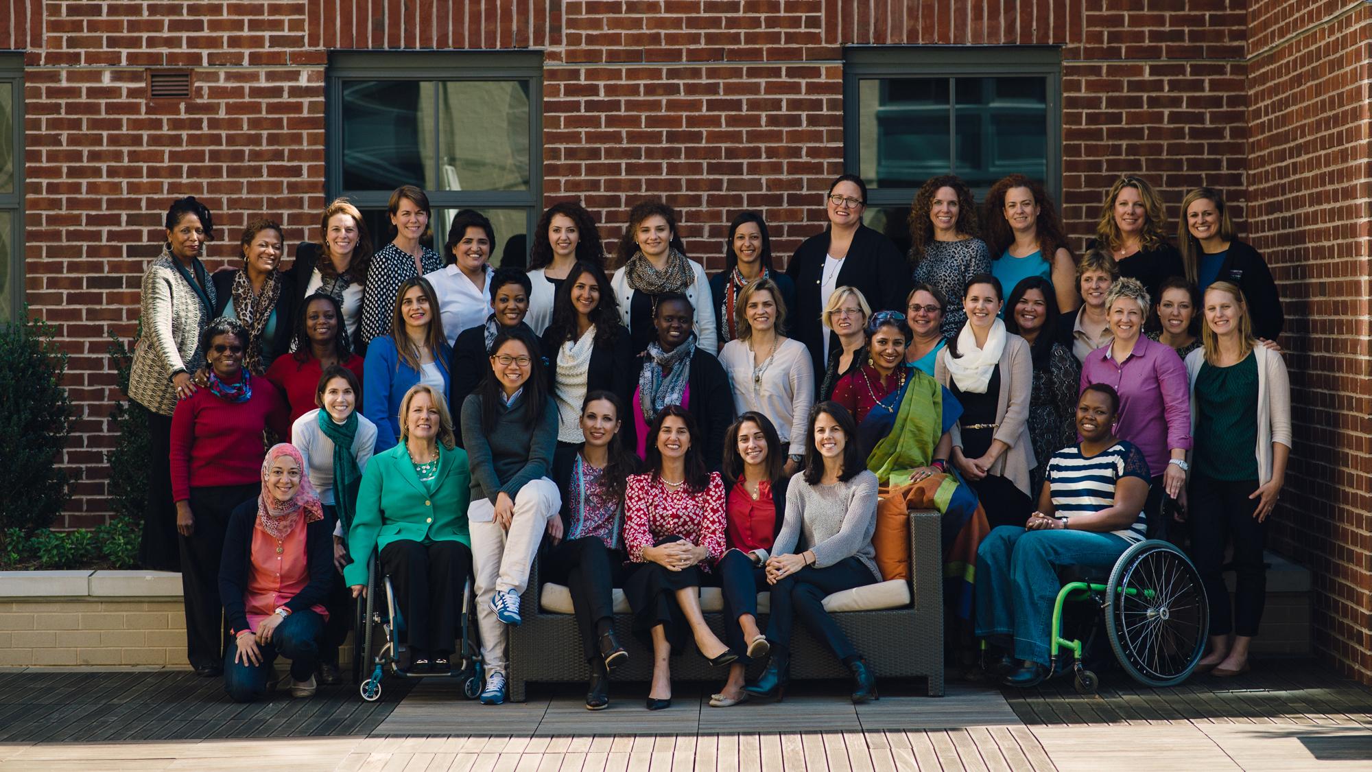 This year's Global Sports Mentoring Program brought women from Armenia, Azerbaijan, Bangladesh, Brazil, Denmark, Egypt, Haiti,   Jordan, Kenya, Lebanon, Ukraine, Pakistan, Singapore, Turkey, and Zimbabwe.