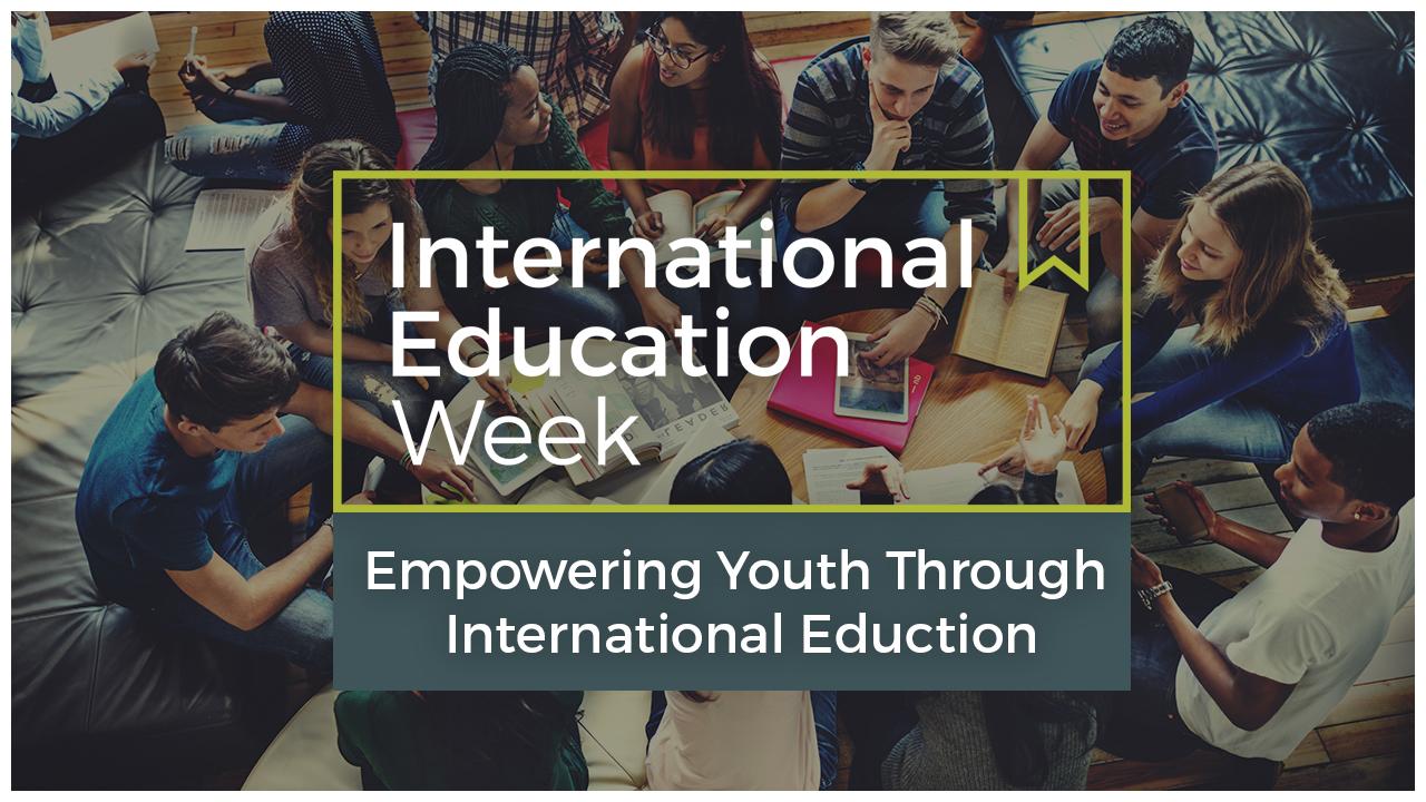 international education week International education week (iew) is an opportunity to celebrate the benefits of international education and exchange worldwide.