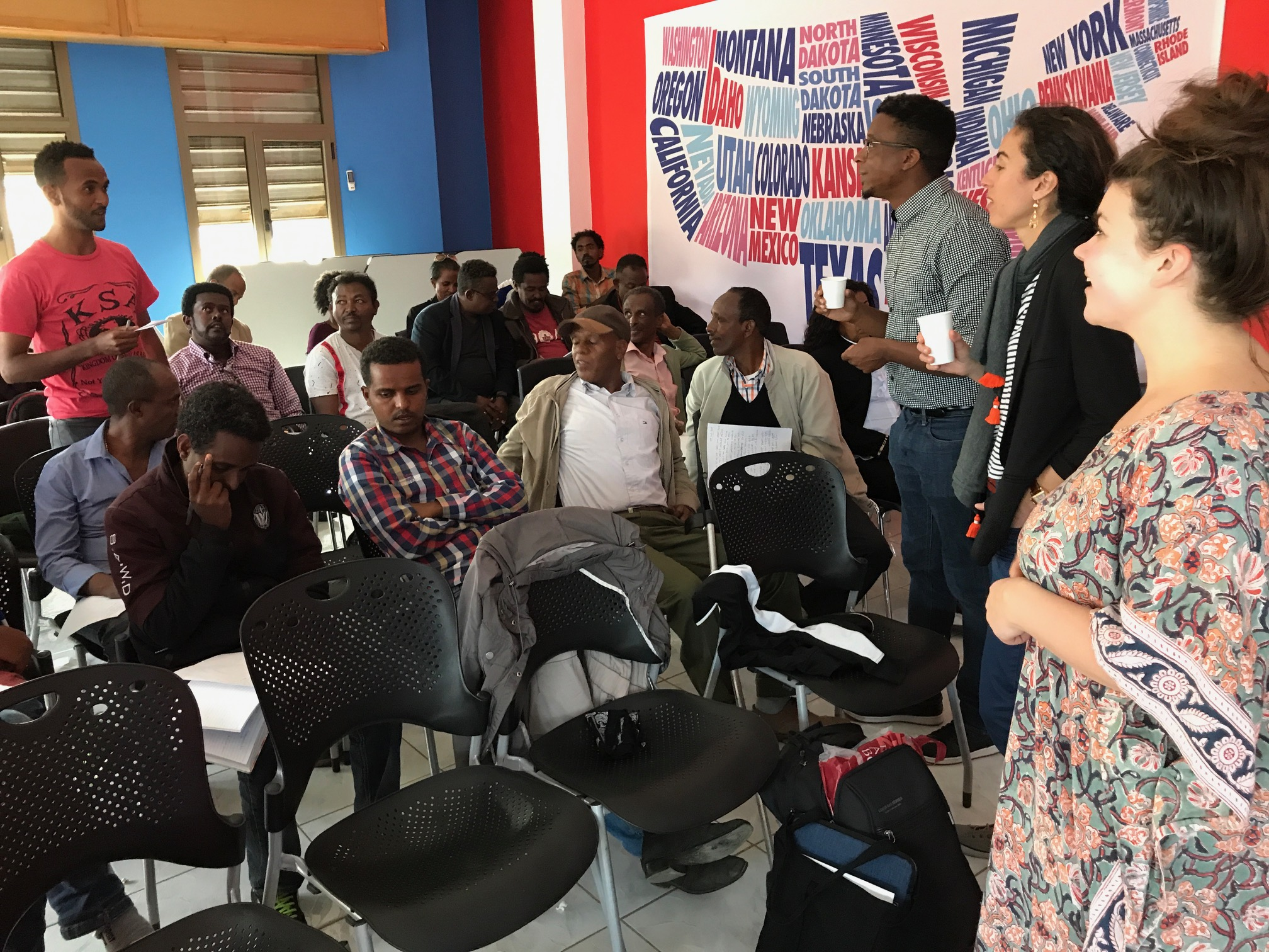 Creative Writing Workshop Brings Many Firsts to Eritrea - Global