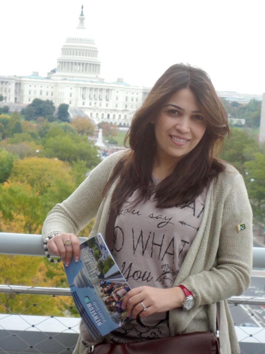 IVLP Participant Ramma Shahid