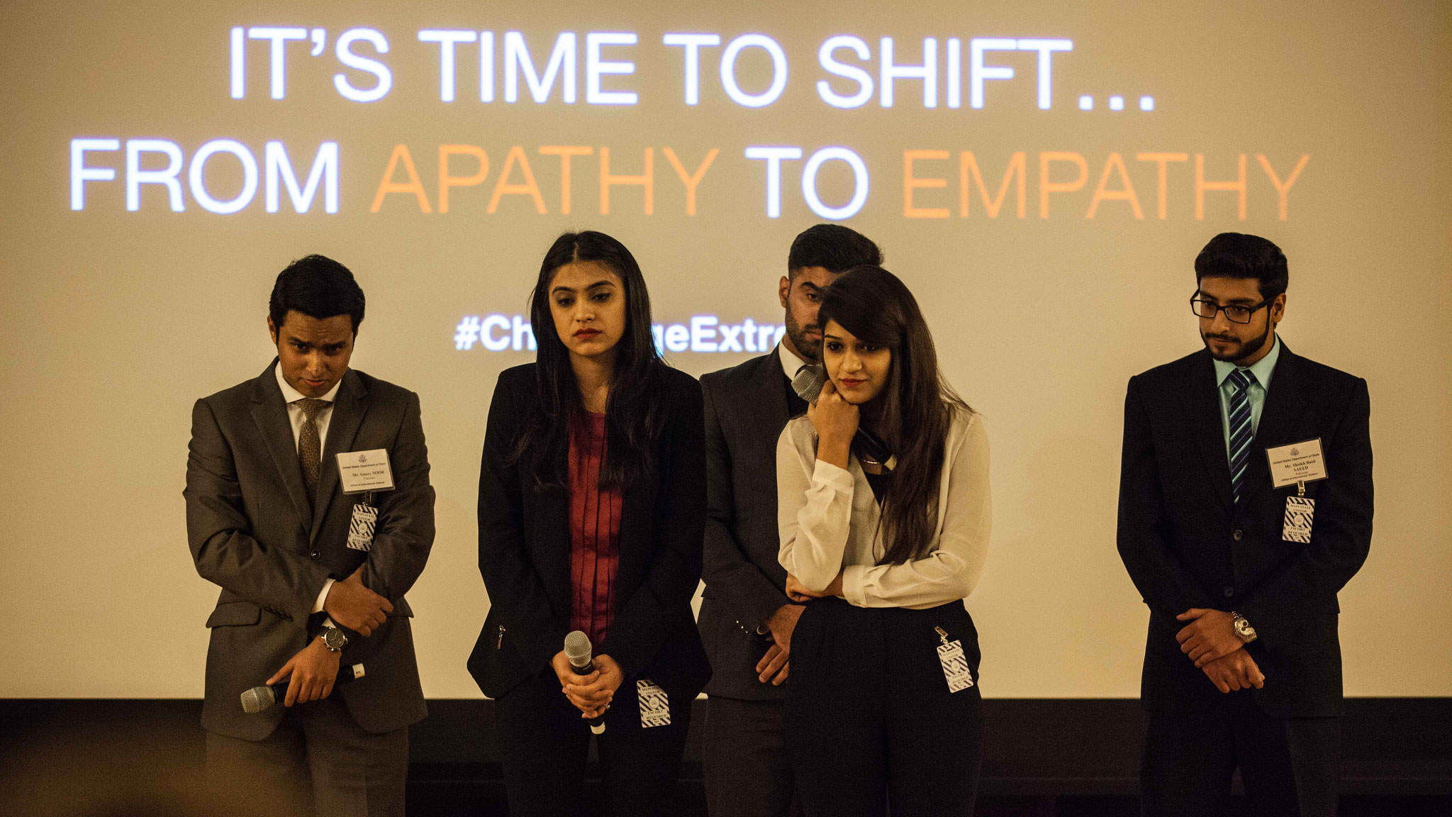 "The ""FATE From Apathy to Empathy"" campaign, designed by students from Lahore University of Management Sciences in Pakistan, took first place at the P2P: Challenging Extremism Competition"