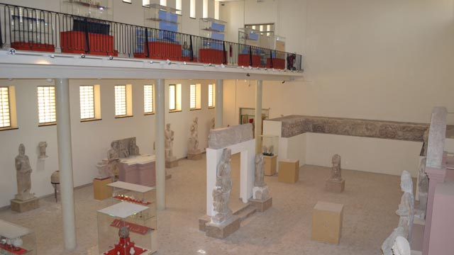 Ground and first floors of Hatra Gallery at the Iraq Museum after renovation, July 2011