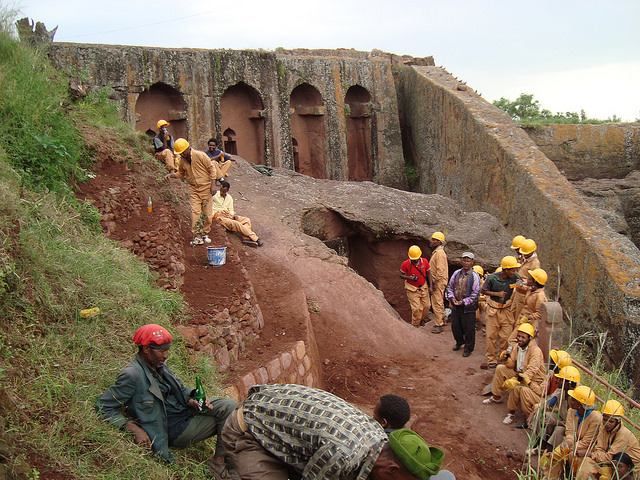 AF Ethiopia: Preservation of a Late 12th-Century Rock-Hewn Church at Lalibela