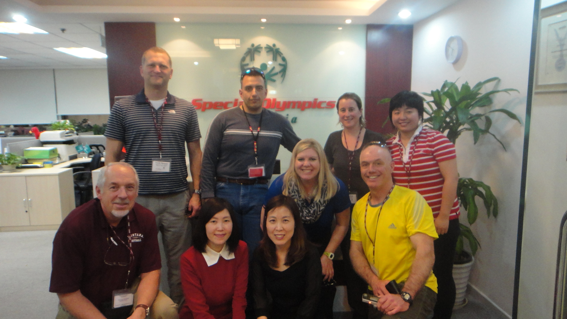 The University of Montana grantee delegation met with Special Olympics China to discuss sports engagement for youth with disabilities.