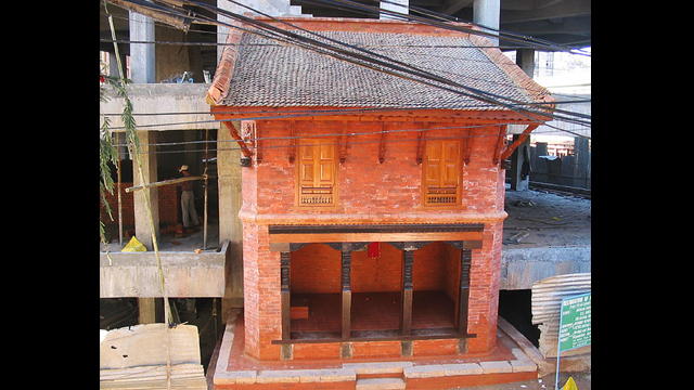 Machali Pati (rest house), Kathmandu, Nepal: The Machali Pati guest house was restored using traditional materials and building methods.