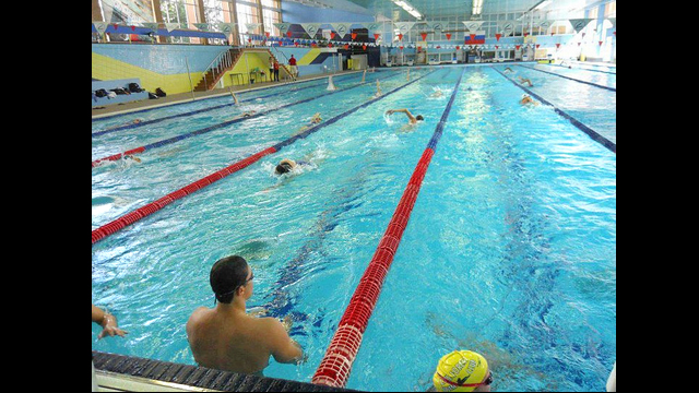 The young American athletes enjoy practices in the Olympic Training Center in Moscow, Russia.
