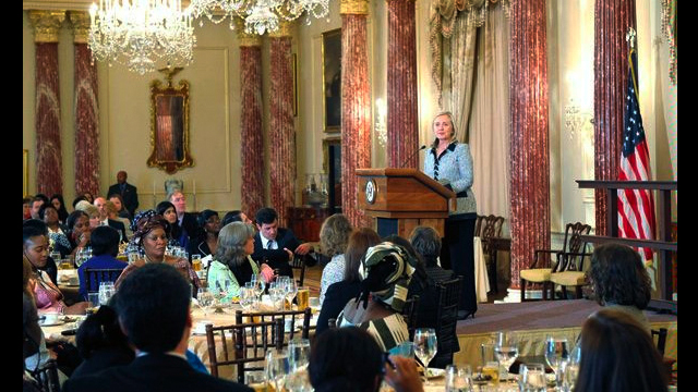 retary Clinton delivered remarks to the participants in the 2011 African Women's Entrepreneurship Program, at the Department of State.