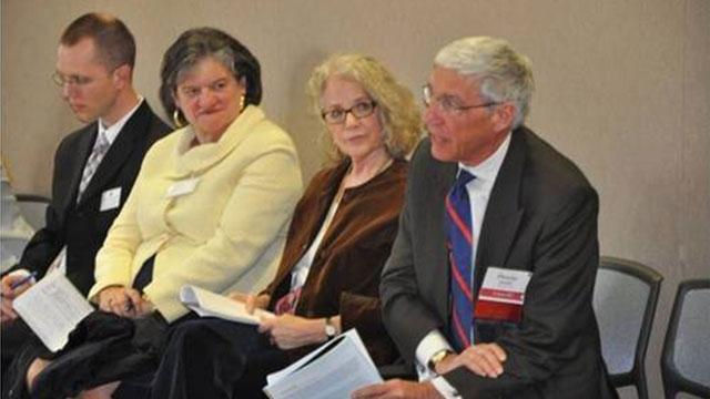 FSB heard from an AU Alumni Board and Fulbright Association Board Member.