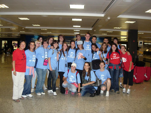A-SMYLE students arrive in U.S.