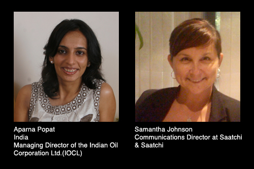 Aparna Popat and Samantha Johnson