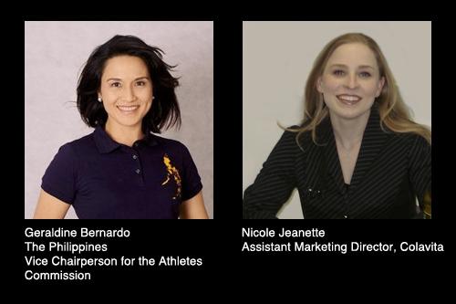 Geraldine Bernardo and Nicole Jeanette