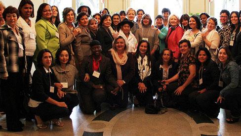 photo of IVLP WeAmericas participants