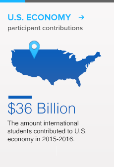 Contribution to US economy 36 Billion