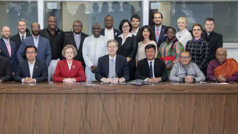 Religious Freedom IVLP group photo