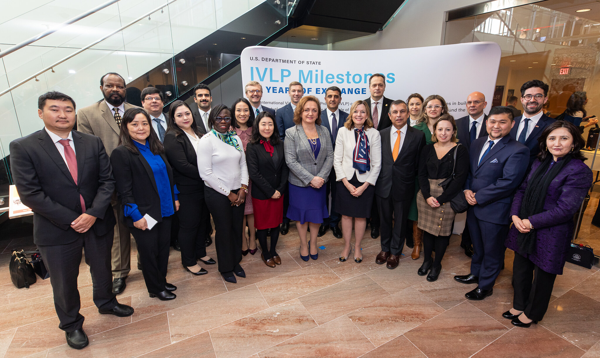 IVLP 80 Event Group photo