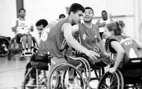 Turkey wheelchair basketball participants.