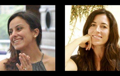 Dina Ibrahim and Amy Stanton