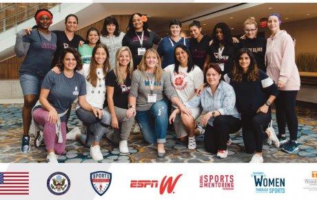 U.S. Department of State and espnW Global Sports Mentoring Program Sportswomen