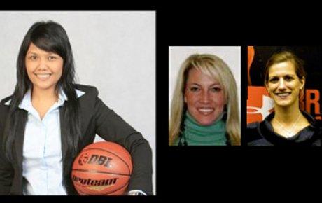 Masany Gultom, Michelle Tanney, and Tori Hanna