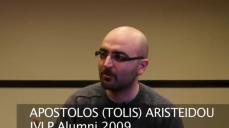 IVLP Alumni Apostolos Aristeidou