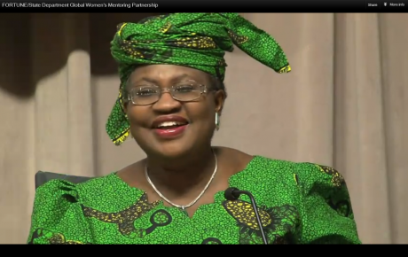 Ngozi Okonjo-Iweala, Managing Director, World Bank
