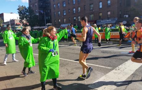 j1 marathon participants and volunteers