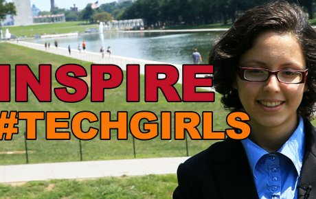 Kenza Arab, a 2014 TechGirl participant from Algeria, is inspiring youth to follow their dreams.
