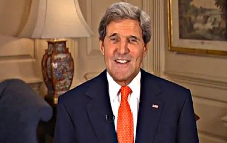 Photo of Secretary Kerry, smiling