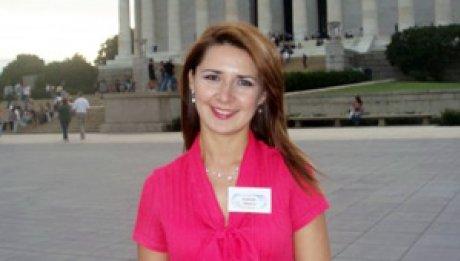 Image of January 2011 Alumna of the month, Daniela Munca.