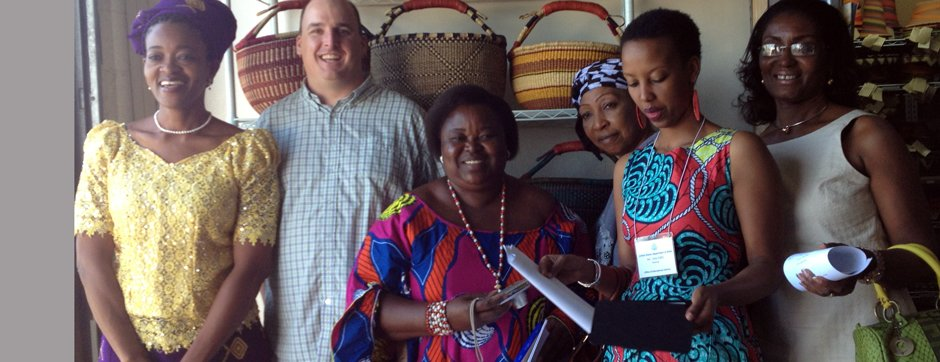 Photo of IVLP participants of the African Women's Entrepreneurship Program