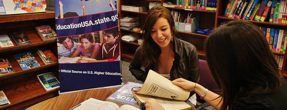 Photo of EducationUSA Advising Center