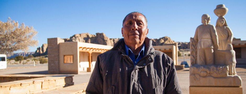 Everett Garcia, Board Member, Historic Preservation Office, Pueblo of Acoma