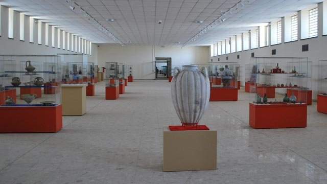 The Islamic Gallery at the Iraq Museum after renovation, June 2011
