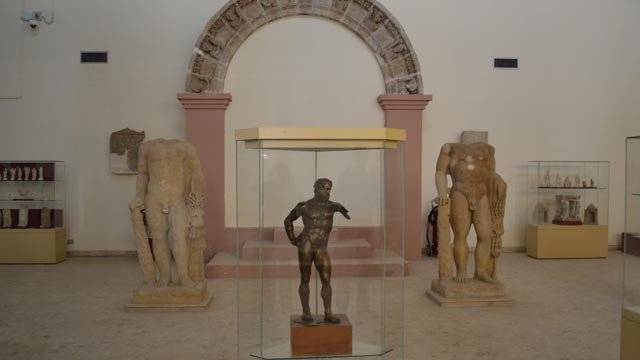 Ground floor of the Hatra Gallery at the Iraq Museum after renovation, July 2011