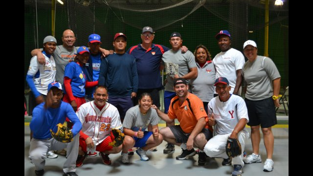The group takes part in athletic and leadership training programs with professional baseball coaches.