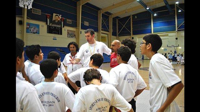 Marty Conlon gives tips from his experience as an NBA clinician.