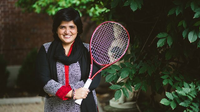 Sadia Mehwish has committed her life to creating athletic opportunities for women and girls in her province in Pakistan.
