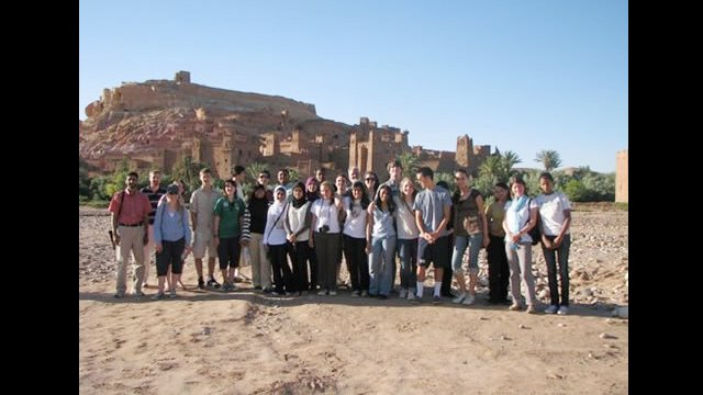 NSLI-Y scholars tour Aït Benhaddou, a UNESCO World Heritage Site
