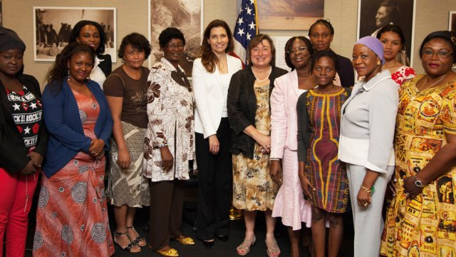 AWEP Women meet Assistant Secretary of State, Evan Ryan and  Under Secretary of State for Economic Growth, Energy, and the Environment Catherine Novelli