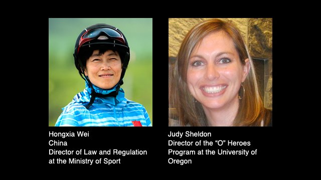 Hongxia Wei and Judy Sheldon