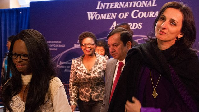 Photo of International Women of Courage Awardees
