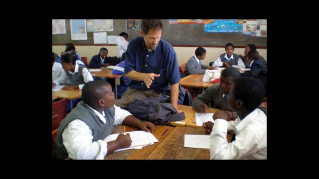 Fulbright Distinguished Awards in Teaching Programparticipant, Jeff Blair, a Humanities teacher from Seattle, Washington teaches in Cape Town, South Africa.