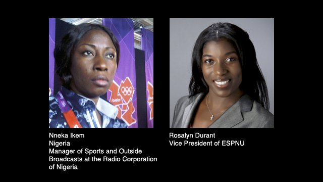 Nneka Ikem and Rosalyn Durant