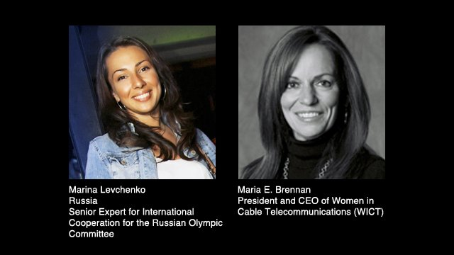 Marina Levchenko and Maria E. Brennan