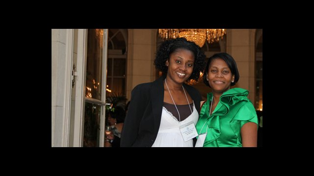 Photo of two WEAmericas Participants